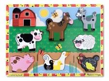 Melissa & Doug Chunky Puzzle Farm
