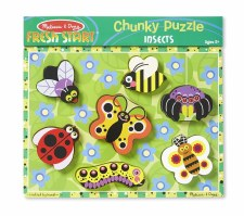 Melissa & Doug Chunky Puzzle Insects