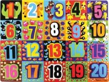 Melissa & Doug Chunky Puzzle Jumbo Numbers
