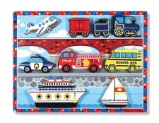Melissa & Doug Chunky Puzzle Vehicle