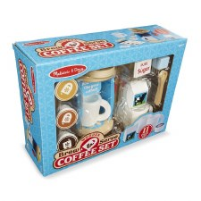 Melissa & Doug Coffee Set Wooden