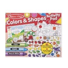 Melissa & Doug Color And Shape Activity Pad
