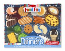 Melissa & Doug Dinners Blue Box