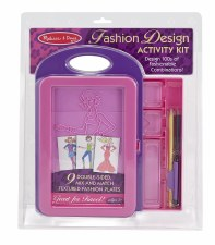 Melissa & Doug Fashion Design Kit