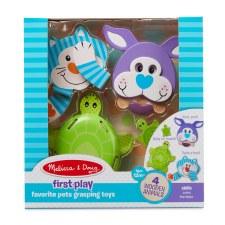 Melissa & Doug Favourite Pets Grasping Toys
