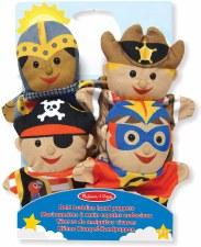 Melissa & Doug Hand Puppets Bold Buddies