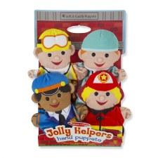 Melissa & Doug Hand Puppets Jolly Helpers