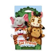 Melissa & Doug Hand Puppets Zoo Friends