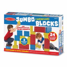 Melissa & Doug Jumbo Cardboard Blocks