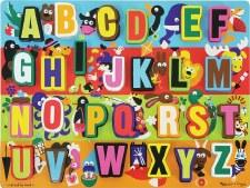 Melissa & Doug Chunky Puzzle Jumbo Alphabet