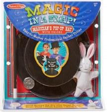 Melissa & Doug Magic In A Snap Magicians Hat