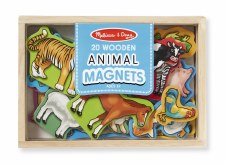 Melissa & Doug Wooden Animals Magnets
