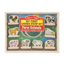 Melissa & Doug My First Stamp Set Farm Animals