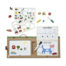 Melissa & Doug Play Draw Create Farm Fun