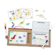 Melissa & Doug Play Draw Create Dinosaur Fun