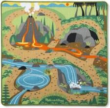 Melissa & Doug Activity Rug Prehistoric Playground