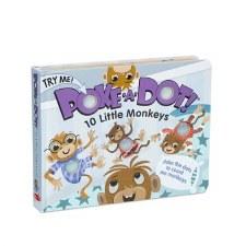 Melissa & Doug Poke A Dot 10 Little Monkeys