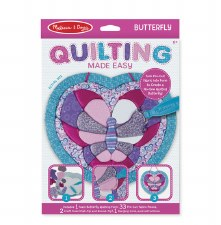 Melissa & Doug Quilting Made Easy Butterfly