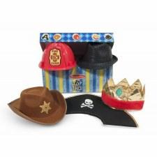 Melissa & Doug 5 Role Play Hats Set