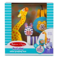 Melissa & Doug First Play Safari Grasping Toys Set