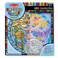 Melissa & Doug Stained Glass Mermaid