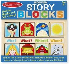Melissa & Doug Story Blocks