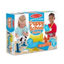 Melissa & Doug Tricks & Training Puppy School Play Set