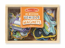 Melissa & Doug Wooden Magnets Vehicles