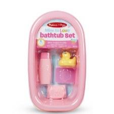 Melissa & Doug Mine To Love Doll Bathtub Set