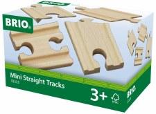 Brio Mini Straight Tracks 33333