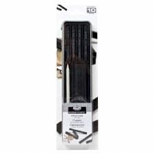 Royal & Langnickel Charcoal & Willow Stick Tin Set 10pc