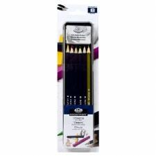 Royal & Langnickel Colored Pencil Drawing Tin 8pc