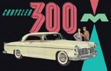 Moebius 1955 Chrysler 300 1/25
