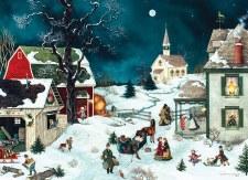 Cobble Hill 500pc Moonlit Winter