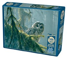 Cobble Hill 500pc Mossy Branches Spotted Owl