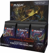 Magic The Gathering Adventures In The Forgotten Realms Set Box