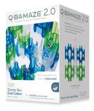 Q-ba-maze 2.0 Marble Maze Cool Colours