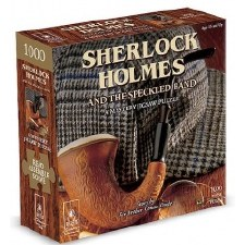 Mystery Jigsaw Puzzle Sherlock Holmes And The Speckled Band