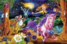 Cobble Hill Floor Puzzle 36pc Mystical World