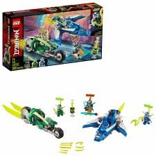 Lego Ninjago Jays And Lloyds Velocity Racers