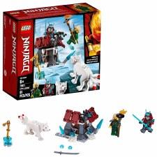 Lego Ninjago Lloyds Journey 70671
