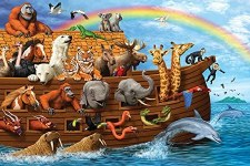 Cobble Hill Floor Puzzle 36pc Noahs Ark