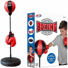 Boxing Floor Set With Gloves National Sporting Goods
