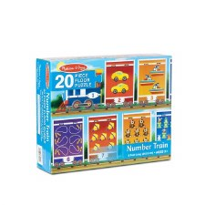 Melissa & Doug Floor Puzzle Number Train 20pc