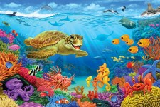 Cobble Hill Ocean Reef Floor Puzzle