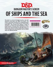 D&d Of Ships & Seas Dungeon Master Screen