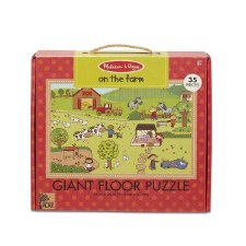 Melissa & Doug Giant Floor Puzzle 35pc On The Farm