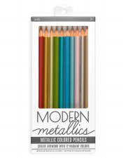 Ooly Modern Metallic Colored Pencils