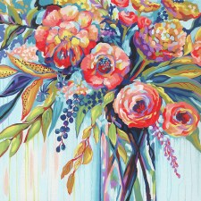 Dimensions Paint By Number Floral Celebration 11x11