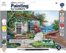 Paint By Number Large Spring Patio